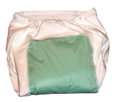 Reusable Incontinent Diaper with Snaps. Reusable Incontinence ...